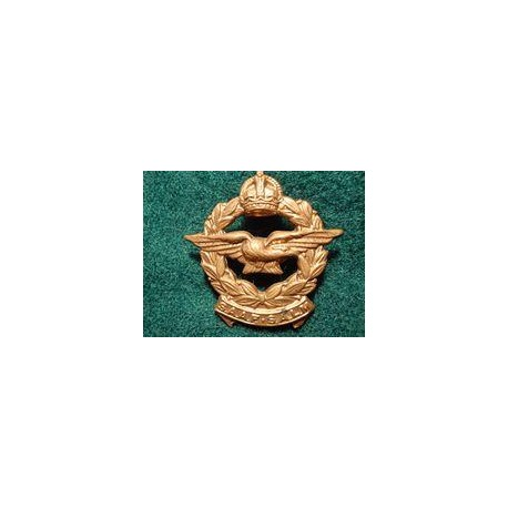 WW2 S.A.A.F Brass Cap Badge