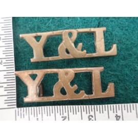 York & Lancaster Brass Titles