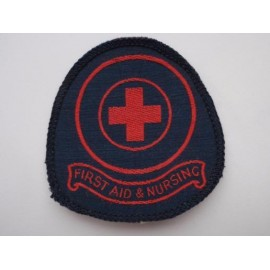 Red Cross 'FIRST AID & NURSING' Overall Patch