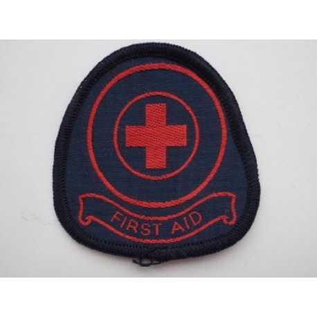 Red Cross 'FIRST AID' Overall Badge