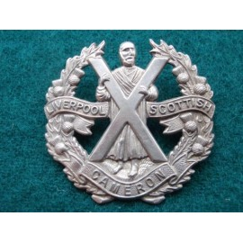 The Liverpool Scottish, The Queens Own cameron Highlanders Badge
