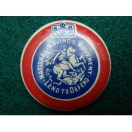 WW2 National Savings (War Bonds) Celluloid Badge