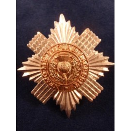 Scots Guards Bi-Metal Sergeants Cap Badge