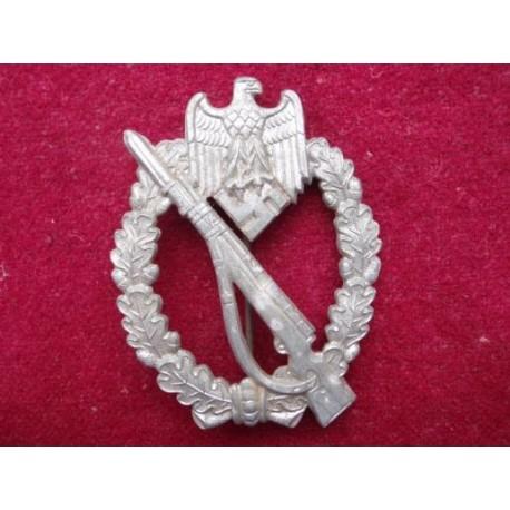 WW2 Silver Infantry Assault Badge