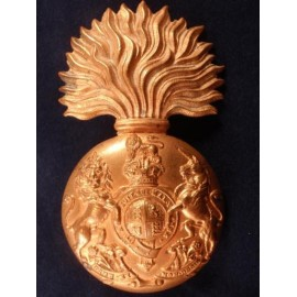 K/C Royal Scots Fusiliers Brass Cap Badge