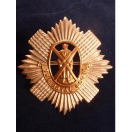 The Royal Scots Bi-Metal Cap Badge