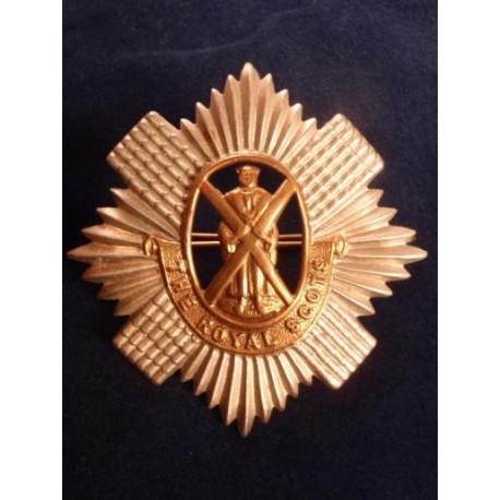 The Royal Scots Bi Metal Cap Badge Gradia Military Insignia
