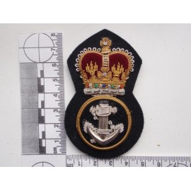Royal Navy Petty Officers Bullion Cap Badge