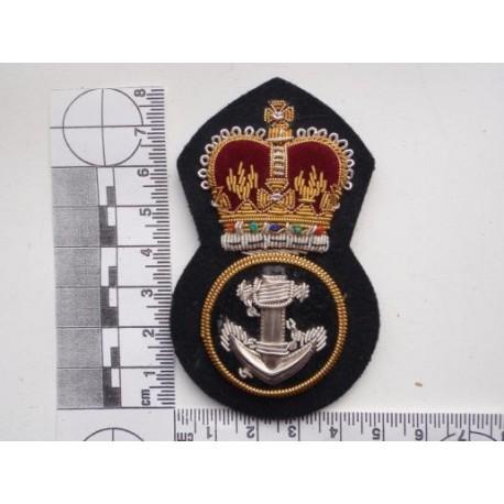 Royal Navy Petty Officers Bullion Cap Badge