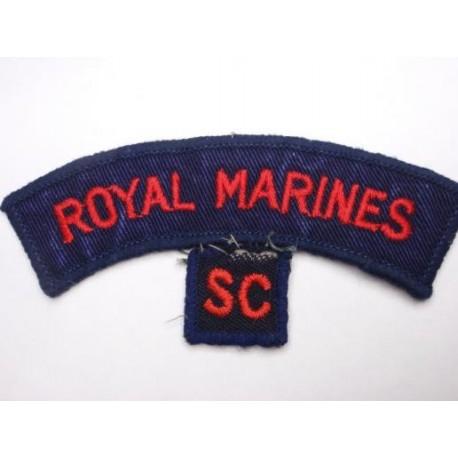 Royal Marines S.C (Cadets) Shoulder Titles
