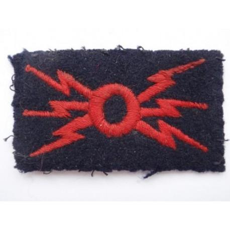 WW2 R.M or R.N Telecommunications Sleeve Trade Badge