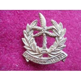 Indian U.O.T.C Cap Badge