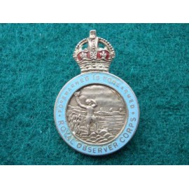 Royal Observer Corps K/C Lapel Badge