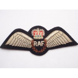 RAF Full Size Bullion Pilots Wings