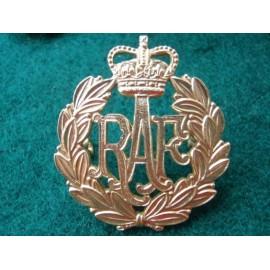 R.A.F Anodised Cap Badge