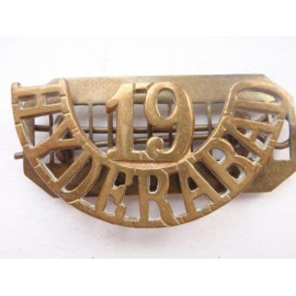 19th HYDERABAD Brass Shoulder Title