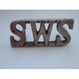 South Waziristan Scouts W.M Shoulder Title