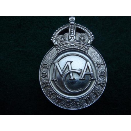 Ministry of Civil Aviation Constabulary Cap Badge