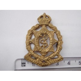 WW2 Indian Army Medical Corps Cap Badge