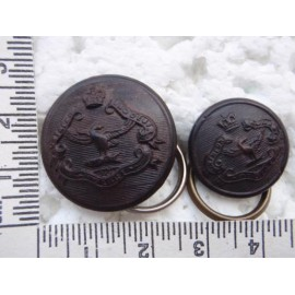 Northern Rhodesia Police Buttons