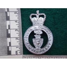 Devon & Cornwall Constabulary Hat Badge