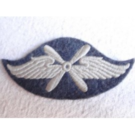 WW2 German Airforce Flying Personnel Cloth Badge