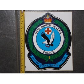 New South Wales Police Vehicle Sticker