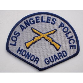 Los Angeles Police Honor Guard Patch