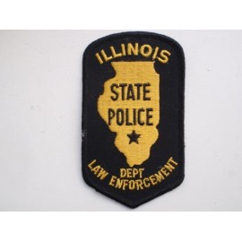 ILLIONOIS State Police Patch