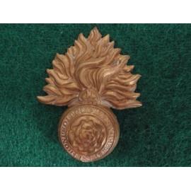 Royal Fusiliers K/C Brass Cap Badge