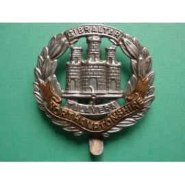 The Northamptonshire Regiment bi/metal Cap Badge
