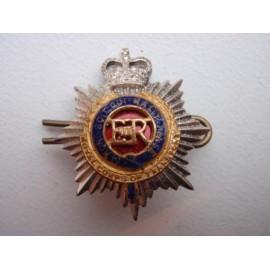 Q/C R.C.T Officers Gilt & Enamel Collar Badge