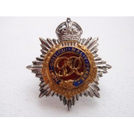 K/C Officers R.A.S.C Officers Gilt & Collar Badge