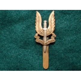 SAS Bi-metal Cap Badge