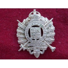 London Rifle Brigade w/m Cap Badge