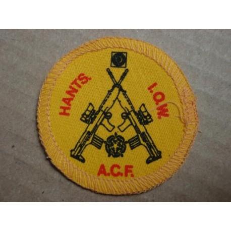 Hants A.C.F I.O.W Brassard Badge