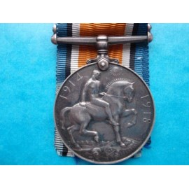 War Medal F.27288 H.CHESTERS A.M.I R.N.A.S