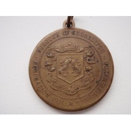 1911 Coronation Medallion