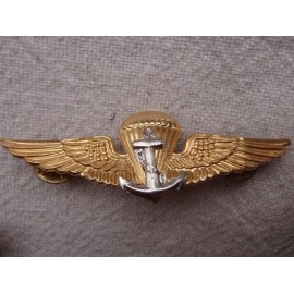 Thailand Naval Parachutist Qualification B/M Breast Badge