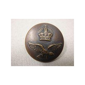 WW2 R.A.A.F Oxidised Tunic Button
