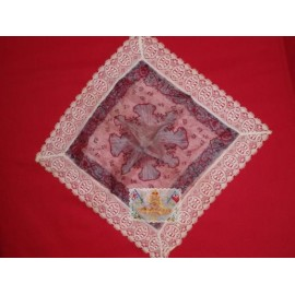 WW1 R.A Silk Hankerchief