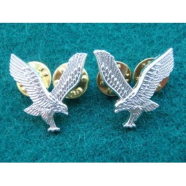 Army Air Corps Anodised Collar Badges