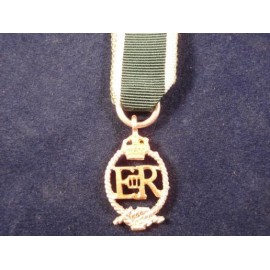 Royal Naval Reserve ER Issue Medal