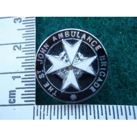 The St John Ambulance Brigade Button Hole Badge