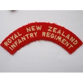 Royal New Zealand Infantry Regt Title