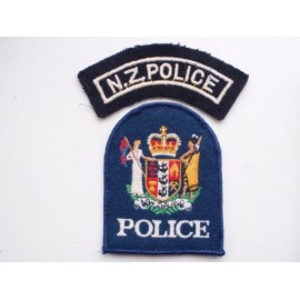 N.Z Police Title & Patch